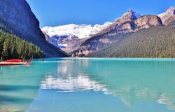 Lake Louise , Banff , Alberta Royalty Free Stock Photography