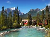 Lake Louise Banff Alberta Canada Royalty Free Stock Images