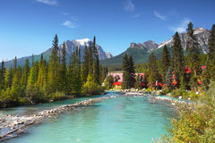 Lake Louise Banff Alberta Canada Stock Image