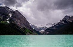 Lake Louise, Banff, Alberta, Kanada Stockfotos