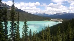 Lake Louise. In banff canada glacier blue lake Stock Photography
