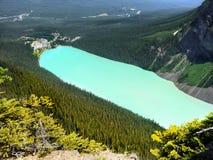 Lake Louise Banff, Kanada Arkivfoton