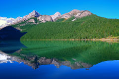 Lake Louise Banff National Park. Beautiful scenery at Lake Louise of Banff National Park in Canada Stock Images