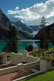 Lake Louise, Banff National Park, Alberta, Canada. Stock Photography