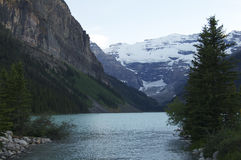 Lake Louise. In Banff National Park, Canada Stock Photos