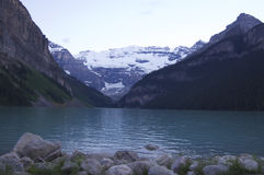 Lake Louise. In Banff National Park, Canada Royalty Free Stock Photo