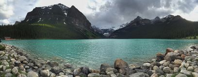 Lake Louise, Banff National Park, Canada Stock Image