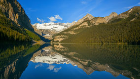 Lake Louise in Banff National Park Stock Photos