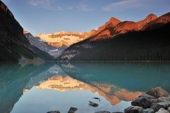 Lake Louise, Banff-Nationalpark Lizenzfreie Stockfotografie