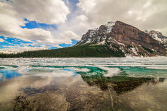 Lake Louise Banff nationalpark, Alberta, Kanada Royaltyfria Foton