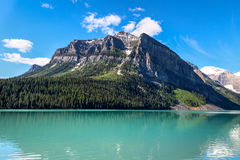 Lake Louise Banff nationalpark, Alberta, Kanada Arkivbilder