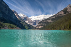 Lake Louise Banff nationalpark, Alberta, Kanada Arkivbild