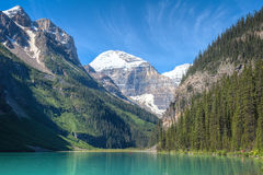 Lake Louise Banff nationalpark, Alberta, Kanada Royaltyfri Fotografi
