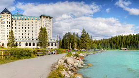 Lake Louise Banff nationalpark, Kanada Royaltyfri Foto