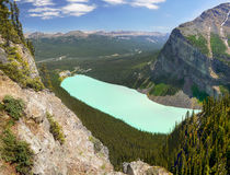 Lake Louise, Banff Np, Canada. The Lake Louise in Banff National park, Alberta, Canada. UNESCO World Heritage Site royalty free stock photography