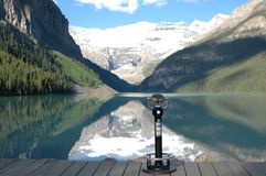 Lake Louise Canadá imagem de stock royalty free