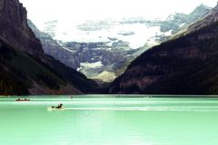 Lake Louise - Canada Royalty Free Stock Photo