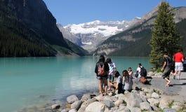 Lake Louise, Canada Photo stock