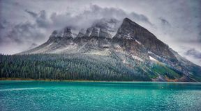 Lake Louise, Canadian Rockies Stock Photos