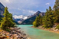 Lake Louise Stock Image