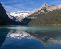 Lake Louise di estate Fotografia Stock