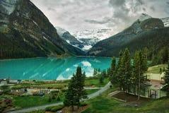 Lake Louise, Canadian Rockies Royalty Free Stock Photography