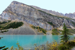 Lake Louise and Fairview Mountain Stock Image