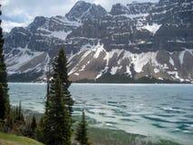 Lake Louise Feezing Стоковые Фото