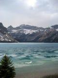 Lake Louise Feezing Royalty Free Stock Image