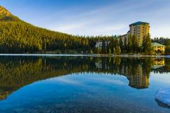 Lake Louise hermoso Fotos de archivo libres de regalías