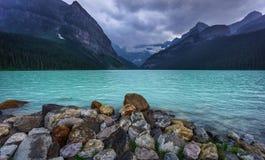Lake Louise. Near Banff, Alberta Royalty Free Stock Photos