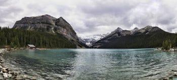 Lake Louise Panoramic Royalty Free Stock Image