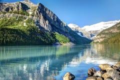 Lake Louise, parque nacional de Banff Imágenes de archivo libres de regalías
