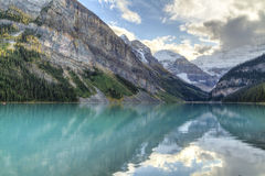 Lake Louise Reflected Majesty Royalty Free Stock Images