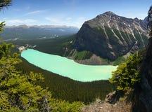 Lake Louise reflection, Alberta Royalty Free Stock Photos