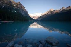 Lake Louise Reflection Stock Image