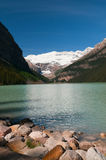 Lake Louise scénique Photo stock