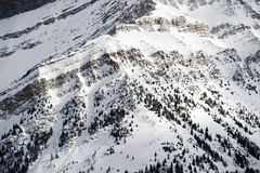 Lake Louise ski resort Royalty Free Stock Image