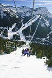 Lake Louise Ski Resort Royalty Free Stock Images