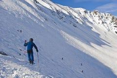 Lake Louise Ski Resort Stock Image