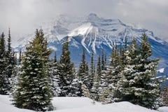 Lake Louise ski resort. Alberta Royalty Free Stock Images