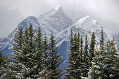 Lake louise ski resort. Beautiful Alberta, Lake louise ski resort Royalty Free Stock Image