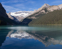 Lake Louise in summer Stock Photography