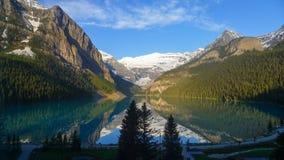 Lake Louise at Sunrise Stock Image