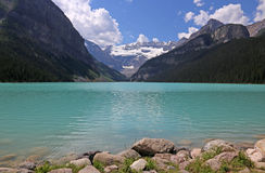 Lake Louise Turquoise Stock Photos