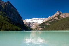 Lake Louise View 1 Stock Photo