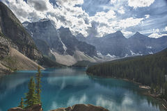 Lake louise view Royalty Free Stock Photos