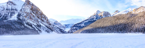 Lake Louise vinter Royaltyfri Foto
