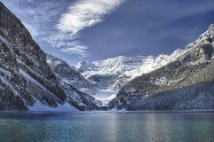Lake Louise Winter Wonderland royalty free stock photo
