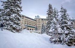 Lake- Louisehotel Stockfoto